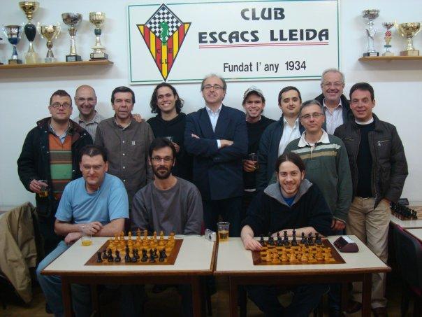 El Club Escacs Lleida aconsegueix l' ascens a Primera Nacional 1