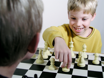 Family bonding through chess 1
