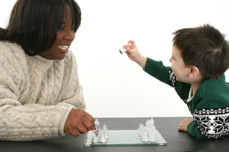 Family bonding through chess 2