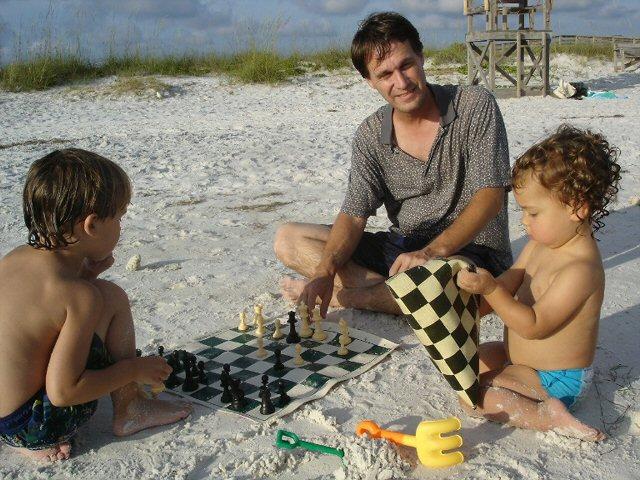 Family bonding through chess 4