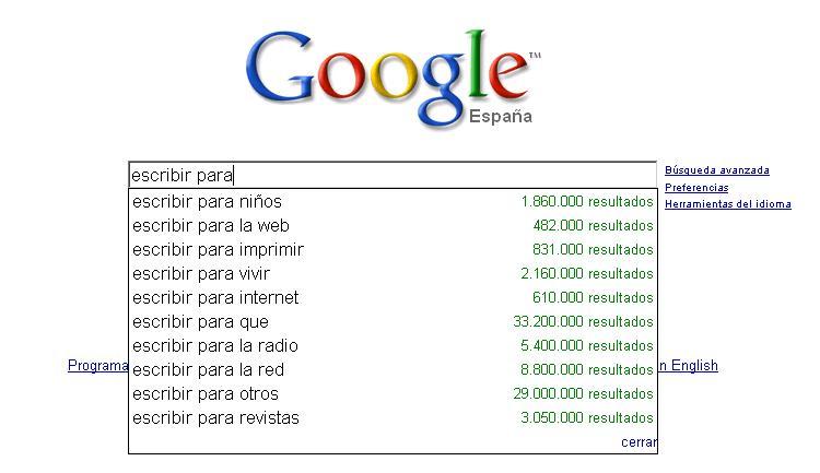 escribir-para-google