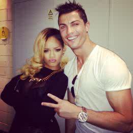 Cristiano Ronaldo y Rihanna 8