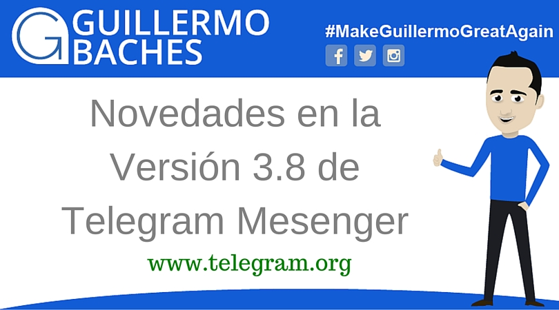 Telegram Messenger 3.8