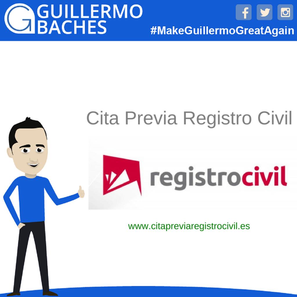 www.citapreviaregistrocivil.es Cita Previa Registro Civil 1