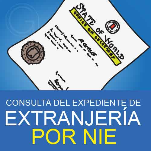 consulta expediente extranjeria