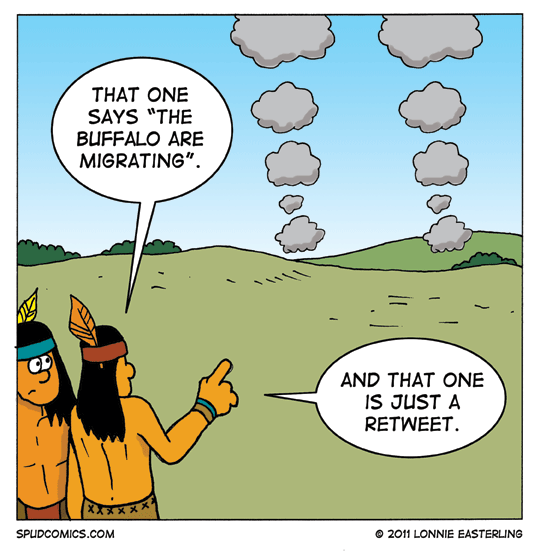 Los indios hacian retweet 8