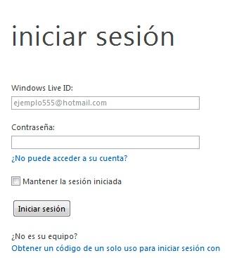 Iniciar Sesión Hotmail 5