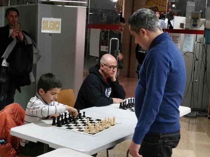 Multipartida de ajedrez