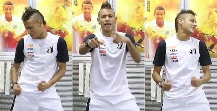 Neymar bailando Ai se eu te pego 1