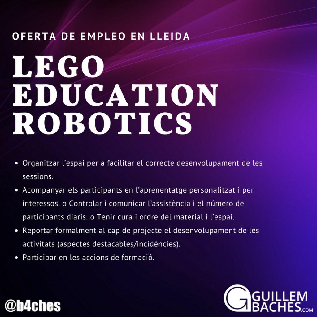 Oferta de Empleo LEGO Education ROBOTIX en Lleida 7