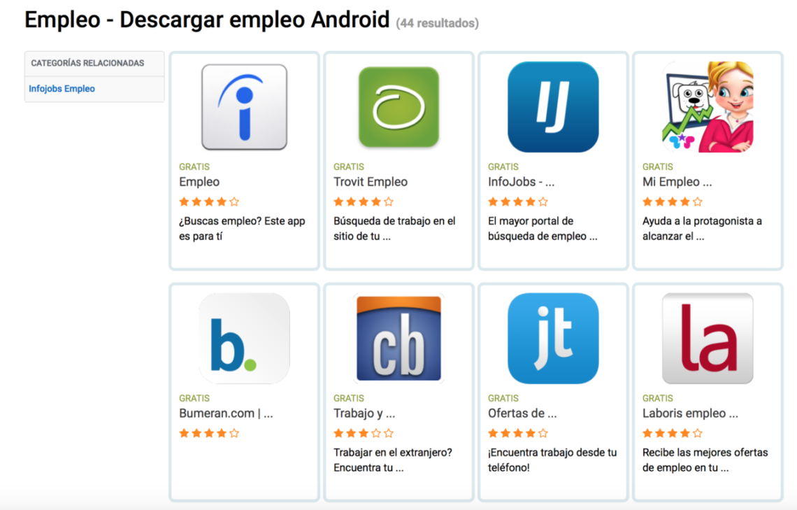 Empleo Android