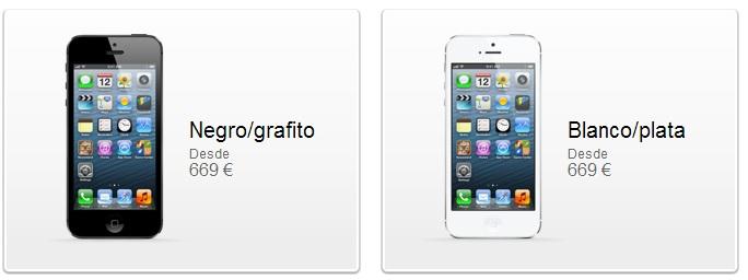 Precio del iPhone 5 2
