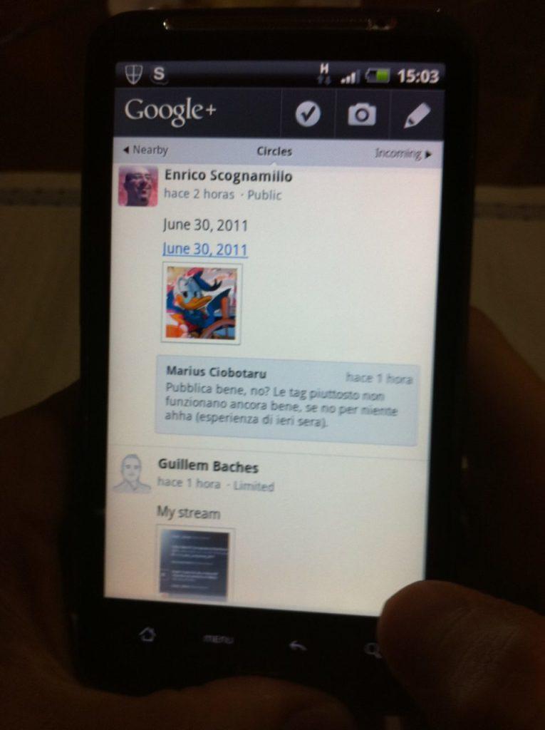 Probando Google+ 1