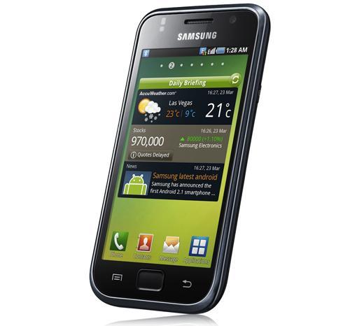 Cómo hacer captura de pantalla en Android Samsung Galaxy S 1