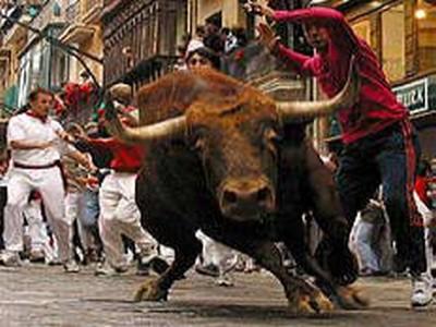 Quinto encierro San Fermín 2012 3