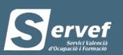 www.servef.es Renovar el paro en Valencia 1