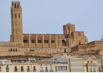 Seu Vella de Lleida de nit 2
