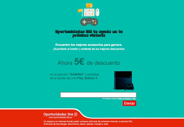 Oportunidades DIA sortea una PS4 1