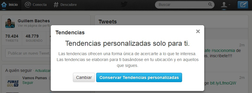 Twitter en CSI 4