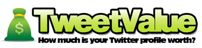 Tweetvalue: Cuanto Vale tu Cuenta de Twitter 4