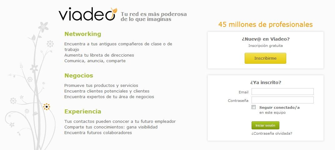 Viadeo: Red Social Profesional 1