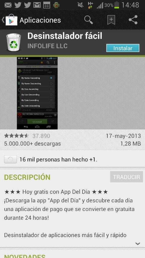 Easy uninstaller : desinstalando aplicaciones Android por la vía rápida 2