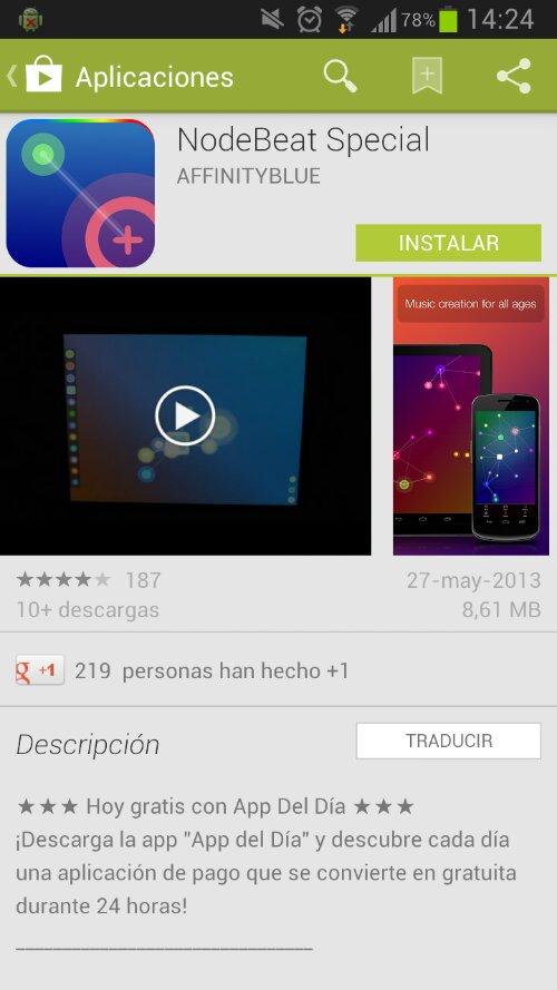 Componer música con NodeBeat para Android 7