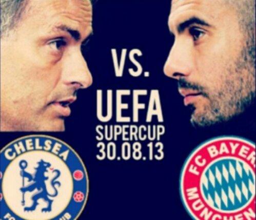 Mou vs Guardiola. UEFA Supercup. 30.08.14 7